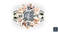 Flower Diamond ring JD4