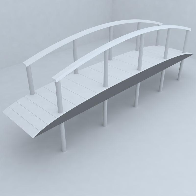 3d bridge design model