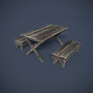 3d model wooden structures