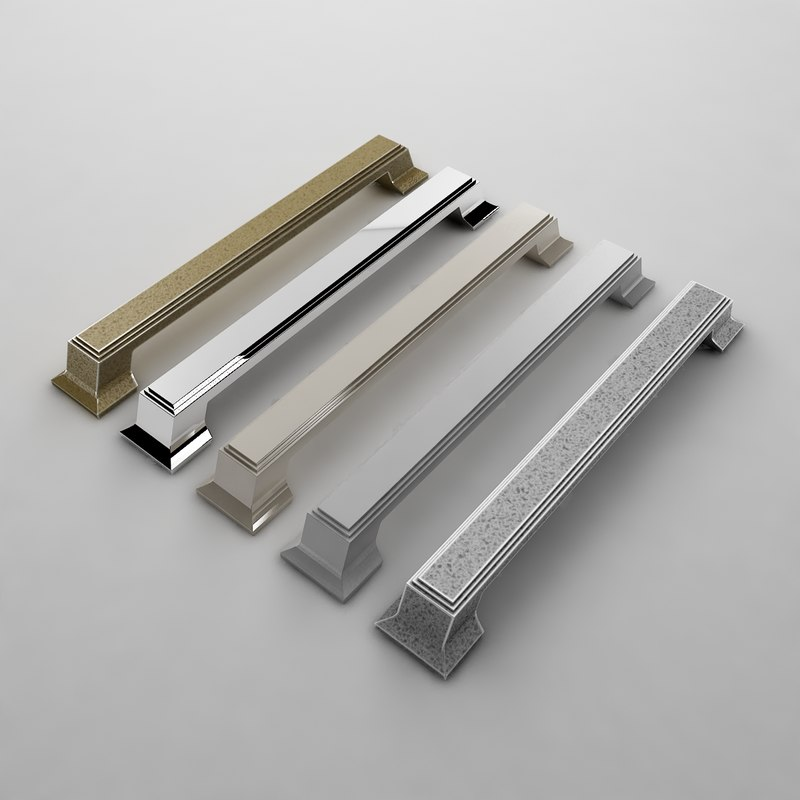 3d kitchen door handle 4235 model