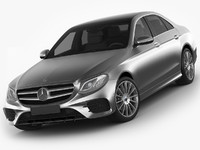 Mercedes E-class AMG package sedan 2017