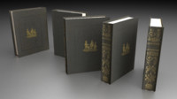 free ordinary book 3d model