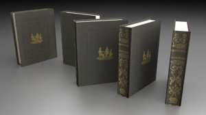 free ordinary book 3d model