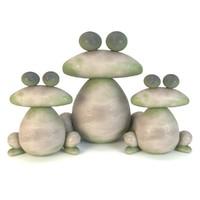 frog sculpture max