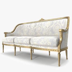 3d angelo cappellini sofa model