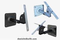 3d model wall mount