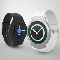 3d model of samsung gear s2