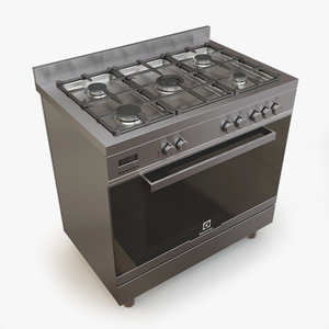 3d gas range electrolux ekk965aaox model