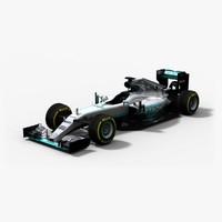 Mercedes W07 Hybrid F1 Season 2016