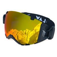 3d ski goggles claw