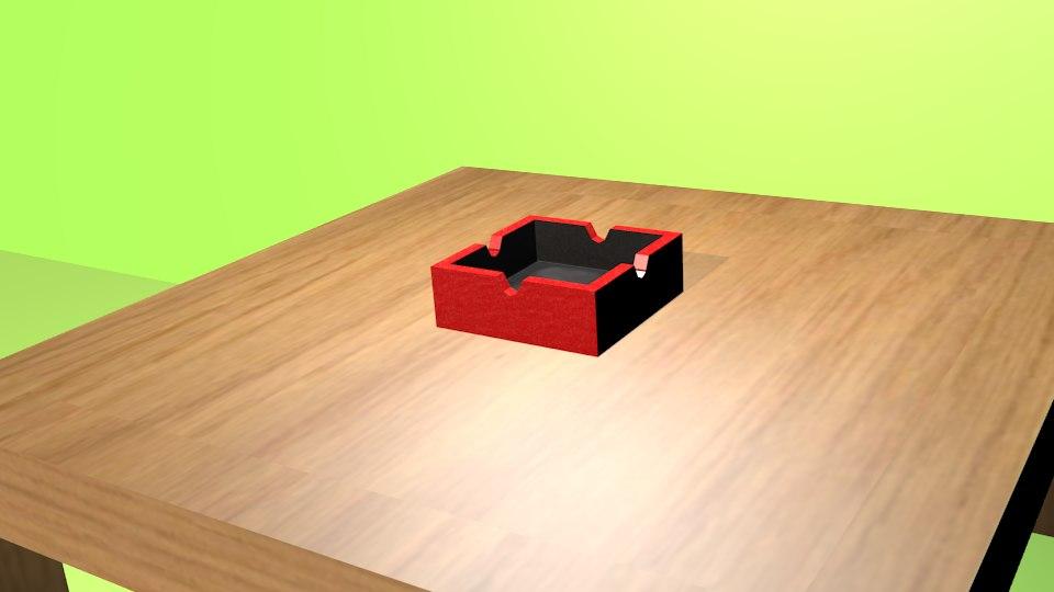 3d model simple ashpit