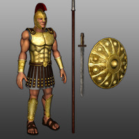 3d greece achilles