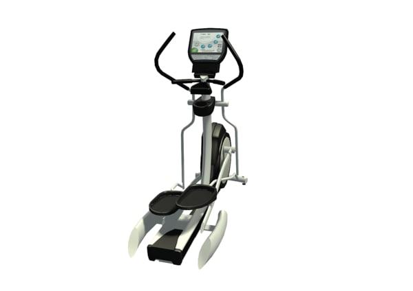 3d elliptical