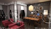3d max furniture set