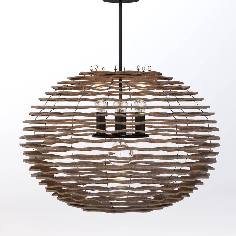 3d model filament light