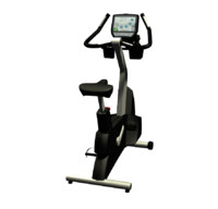 upright bike 3d max