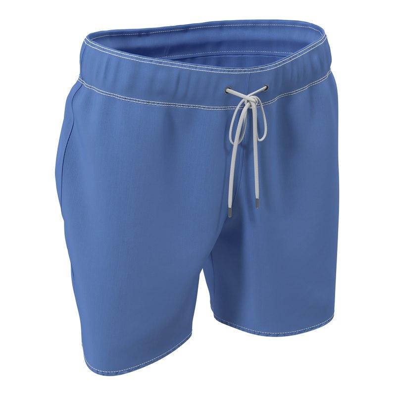 max mens swim trunks blue