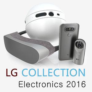 lg 2 electronics 3d c4d