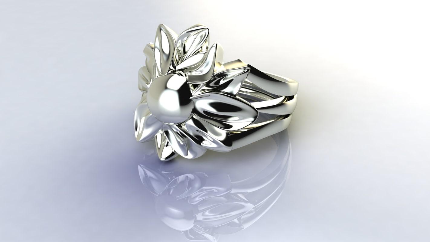flower ring jd4 3ds