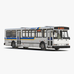 3d orion v transit bus model