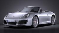 Porsche 911 Carrera Cabriolet 2016