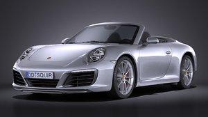 3d max porsche 911 carrera