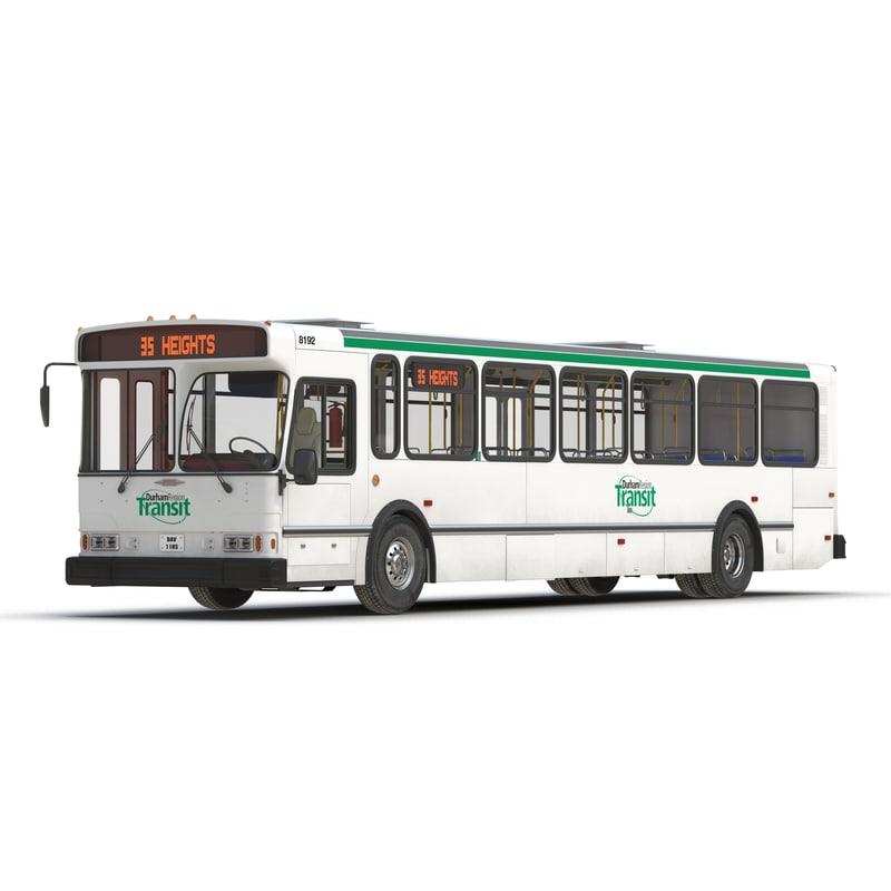 orion v transit bus 3d obj