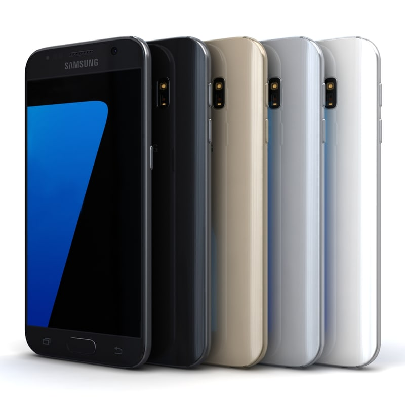 samsung galaxy s7 color 3d model