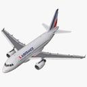 Airbus A318 3D models