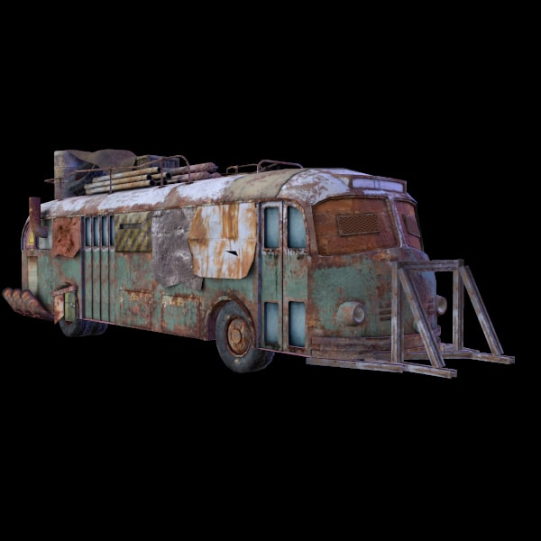 3d bus gaming environment
