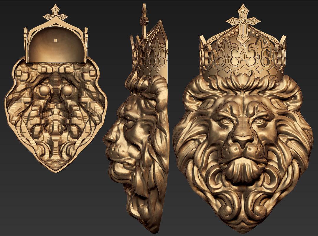 lion head 3dm