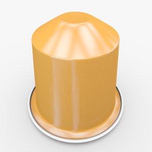 nespresso capsule linizio obj