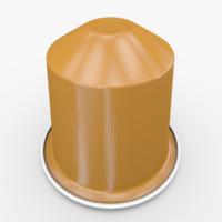 3d nespresso capsule livanto
