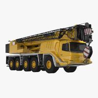 mobile crane gmk 5059 3d model