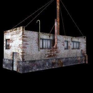 boiler room 3d fbx