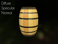 Barrel (Game Asset)