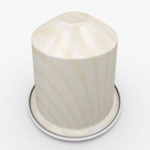 nespresso capsule vanilio 3d fbx