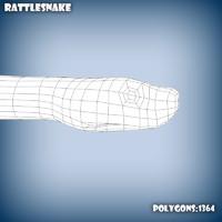 3d base mesh rattlesnake model