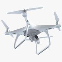 drone phantom 4 3d max