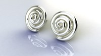 Spiral earrings JD18E