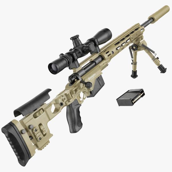 m2010 enhanced sniper rifle max