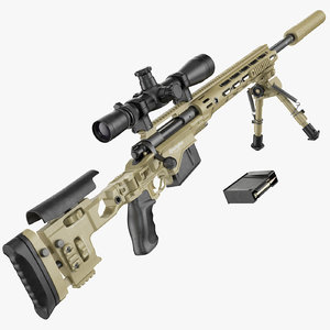 m2010 enhanced sniper rifle max