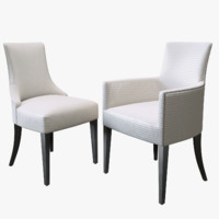 charles carver chair 3d max