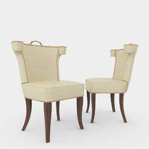 soane chair simplified max