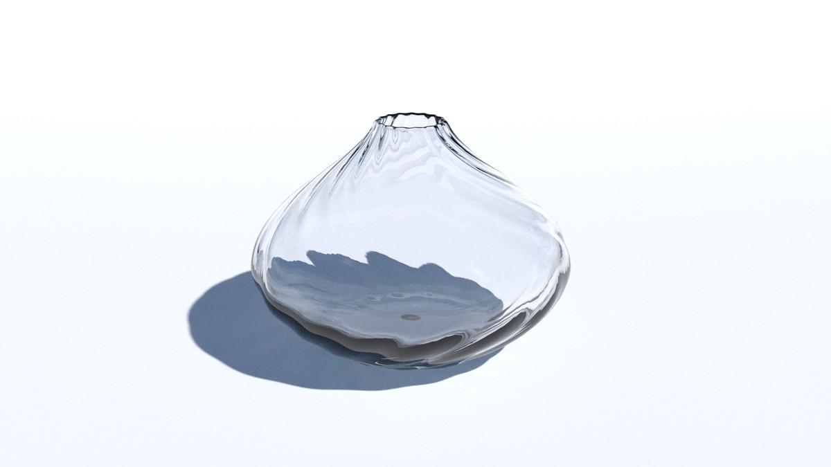 modern vase 3d obj