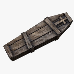 old wooden coffin ma