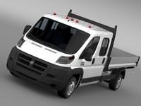 3d model ram promaster cargo crew