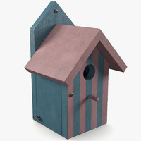 Wooden Birdhouse 2