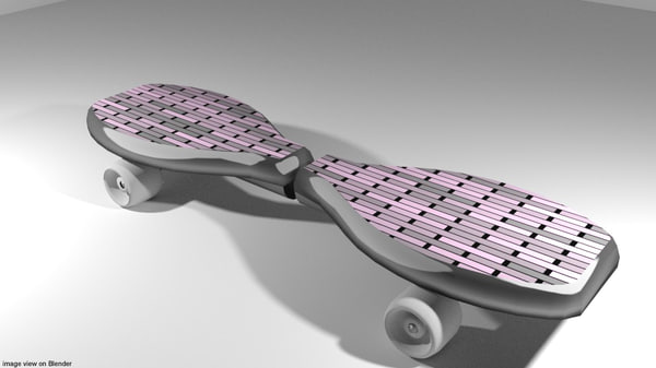 waveboard 3d 3ds