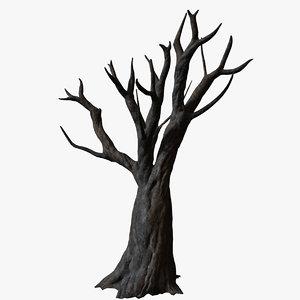 old dead tree 3d model
